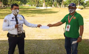 UPVTC Puso gives Cash Donation to UPVTC Security Guards